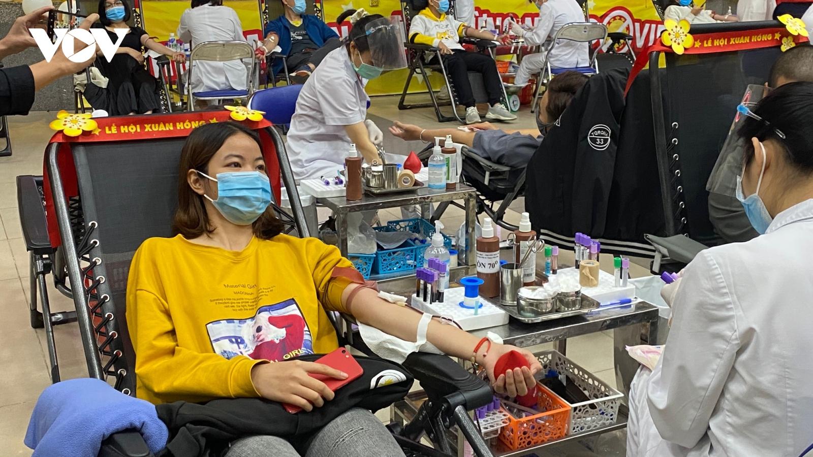 Lễ hội Xuân hồng 2021 dự kiến vận động được trên 4.000 đơn vị máu