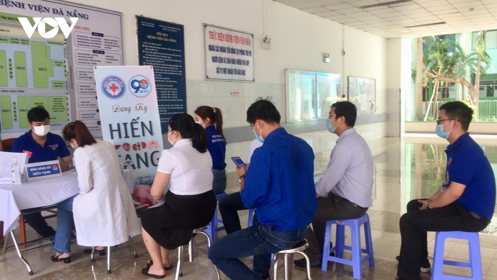 Lần đầu tiên Bệnh viện Đà Nẵng kêu gọi đăng ký hiến mô tạng