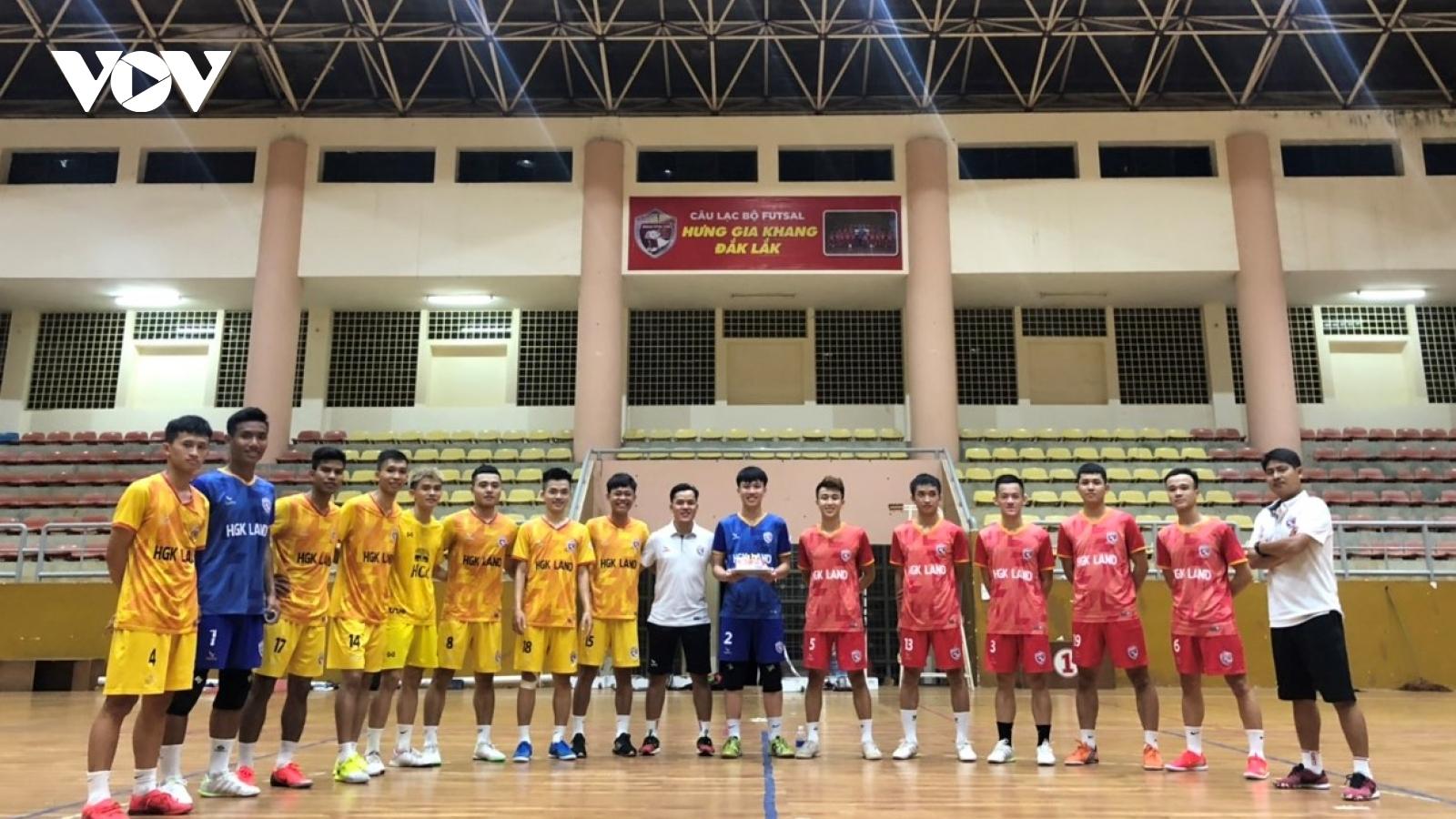 Hưng Gia Khang Đắk Lắk: Tự tin hướng đến mùa giải Futsal 2021