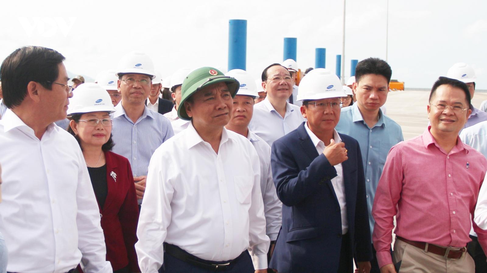 Thủ tướng: Cái Mép-Thị Vải phải là cảng biển đẳng cấp thế giới vào năm 2045