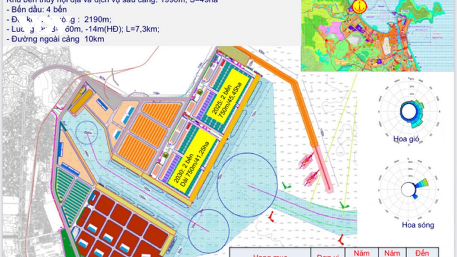 Chính phủ phê duyệt chủ trương đầu tư Bến cảng Liên Chiểu