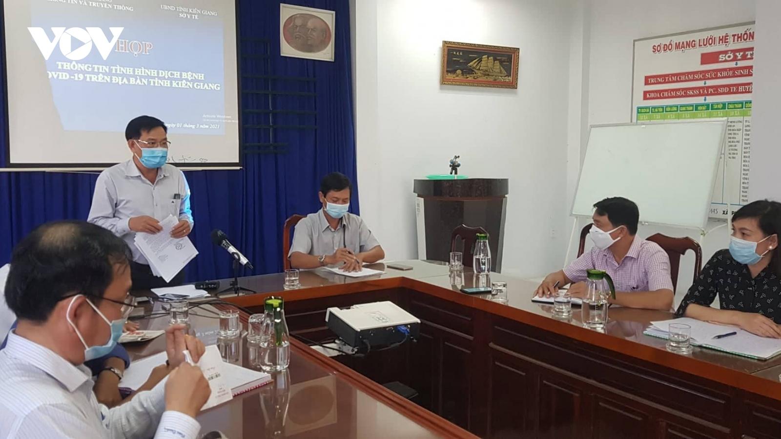 Kiên Giangcó 5 trường hợp dương tính với SARS-CoV-2 từ 13 trường hợp nghi nhiễm