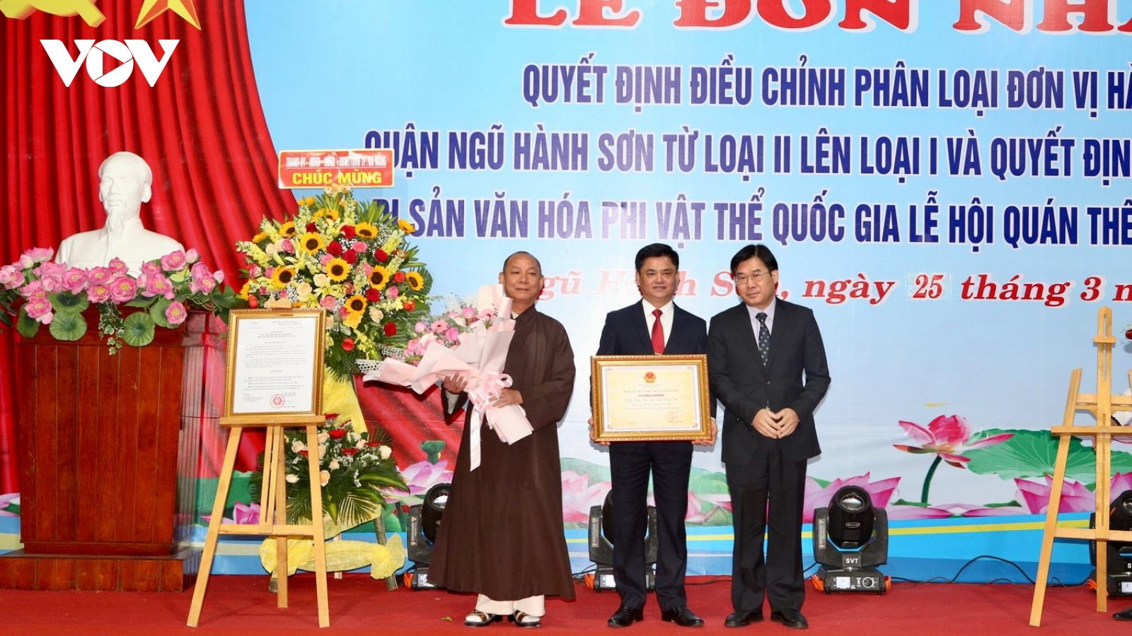 Lễ hội Quán Thế Âm Đà Nẵng là Di sản văn hoá phi vật thể quốc gia