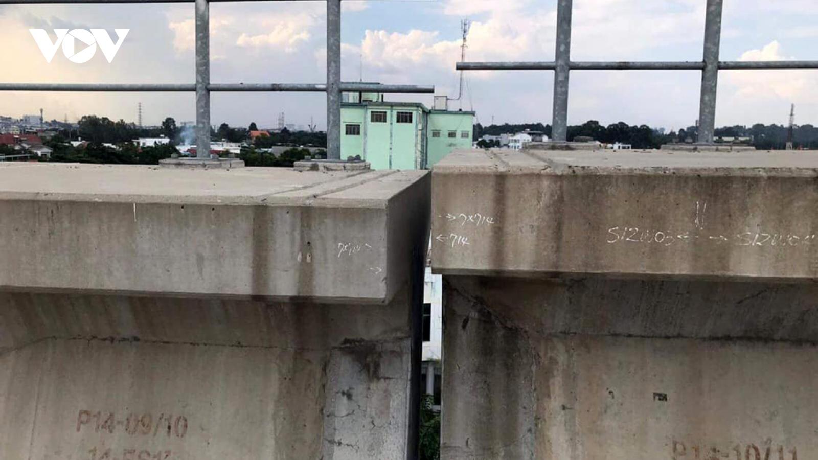 Sự cố sập dầm cầu metro số 1: Nhà thầu thừa nhận gối cầu không đạt