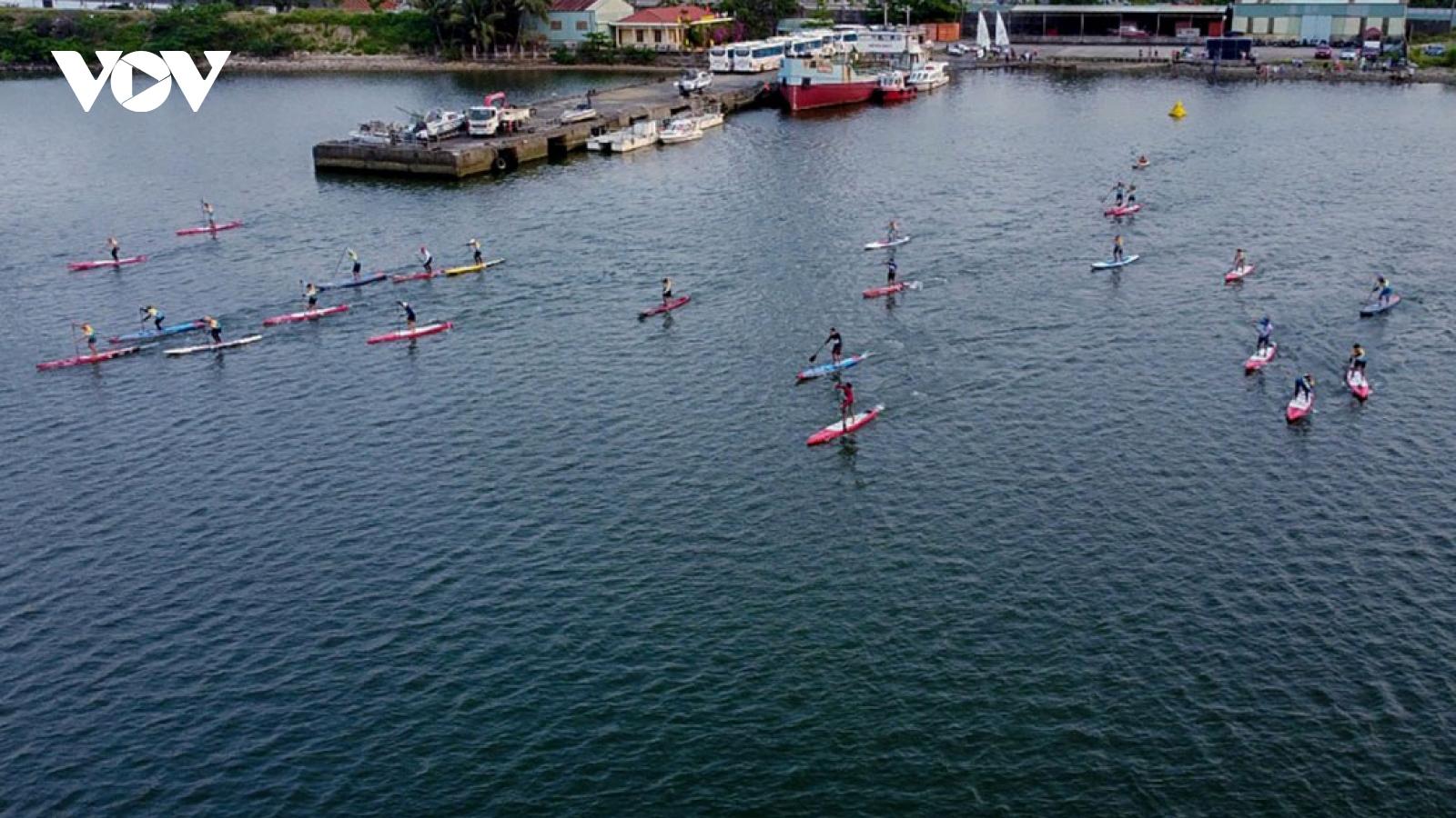 Han River welcomes launch of Da Nang SUP Race 2021