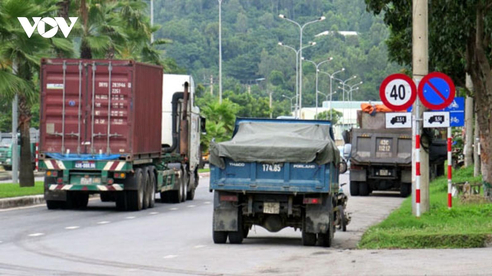 Hoàn thành cải tạo đường ra cảng Tiên Sa (Đà Nẵng) vào cuối năm 2021