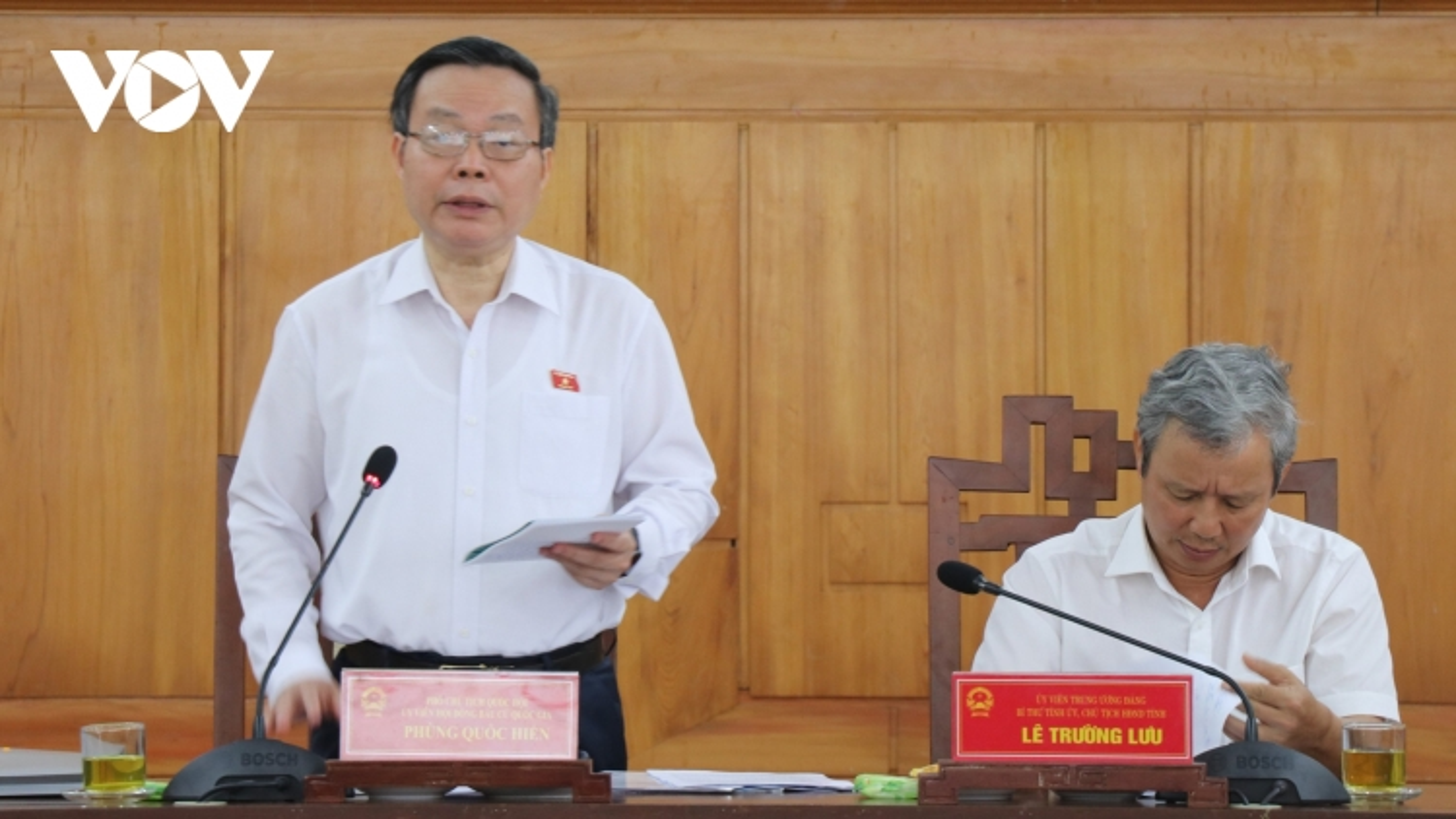 Thừa Thiên Huế thống nhất danh sách sơ bộ 13 ứng cử viên ĐBQH