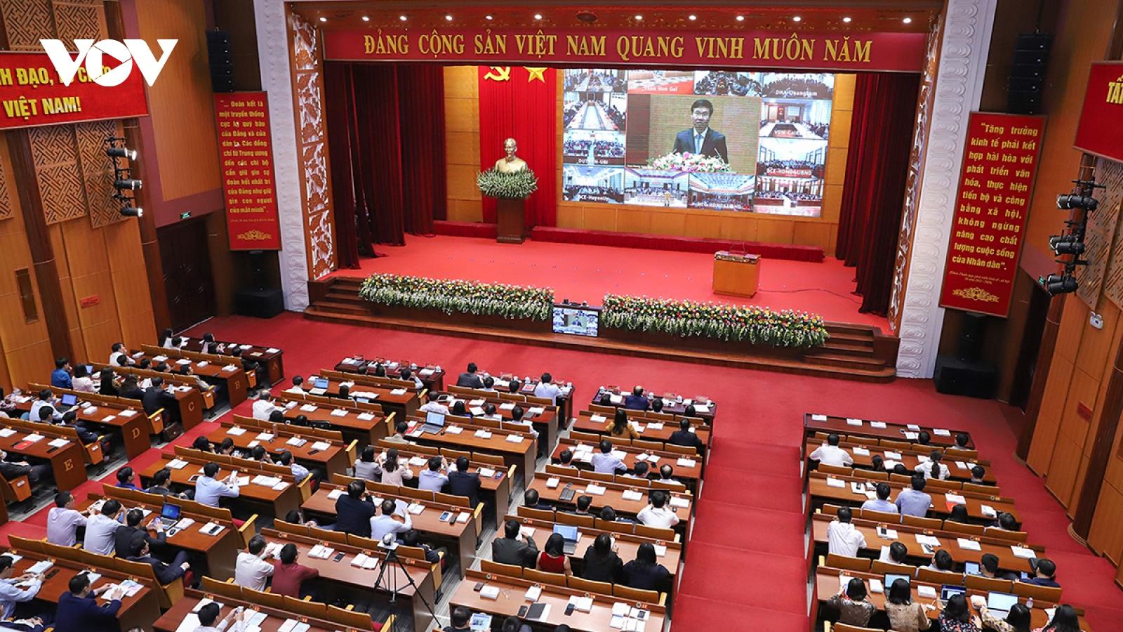 Đảng viên hào hứng quán triệt Nghị quyết Đại hội XIII qua hình thức trực tuyến