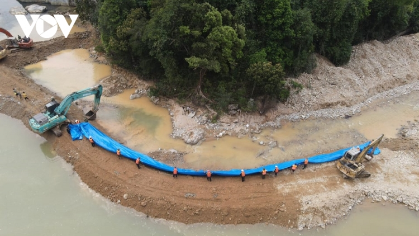 Vụ thủy điện Rào Trăng 3: Xây dựng phương án tìm kiếm tại 2 bãi bồi tiếp theo