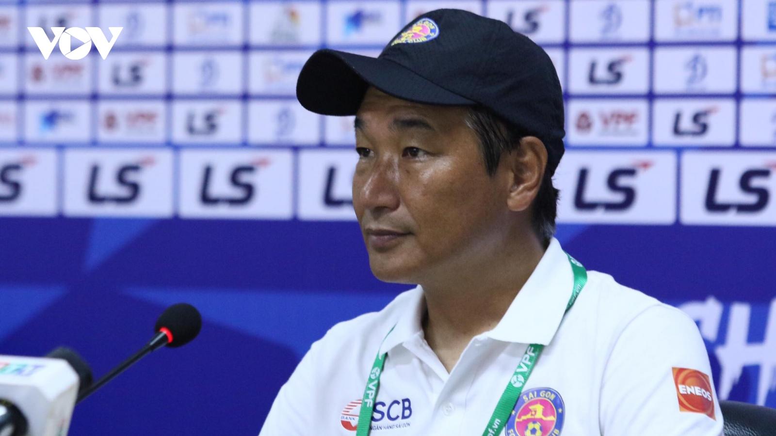 Sài Gòn FC chia tay thầy Nhật, bổ nhiệm thầy nội