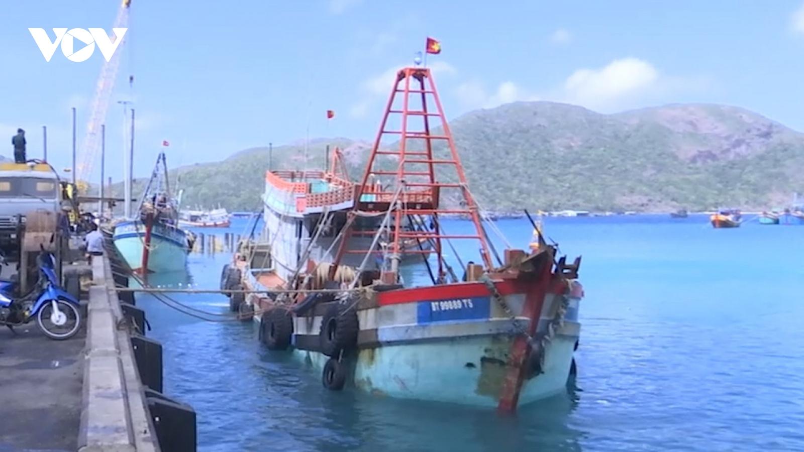 Bà Rịa - Vũng Tàu bắt tàu cá vận chuyển 180.000 lít dầu DO không rõ nguồn gốc