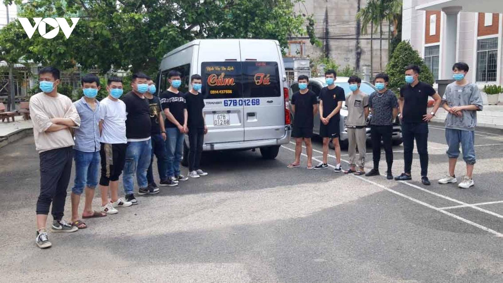 34 người Trung Quốc nhập cảnh trái phép ở An Giang đã có kết quả âm tính lần 1