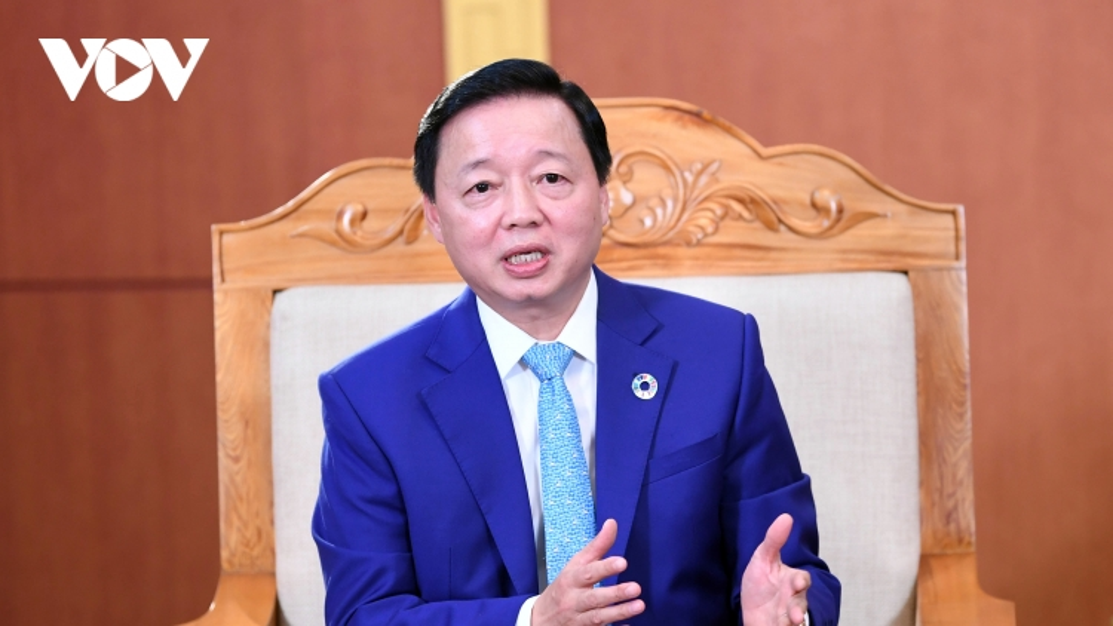 """Bộ trưởng Trần Hồng Hà: """"Trồng cây để sửa chữa những sai lầm của con người với tự nhiên"""""""