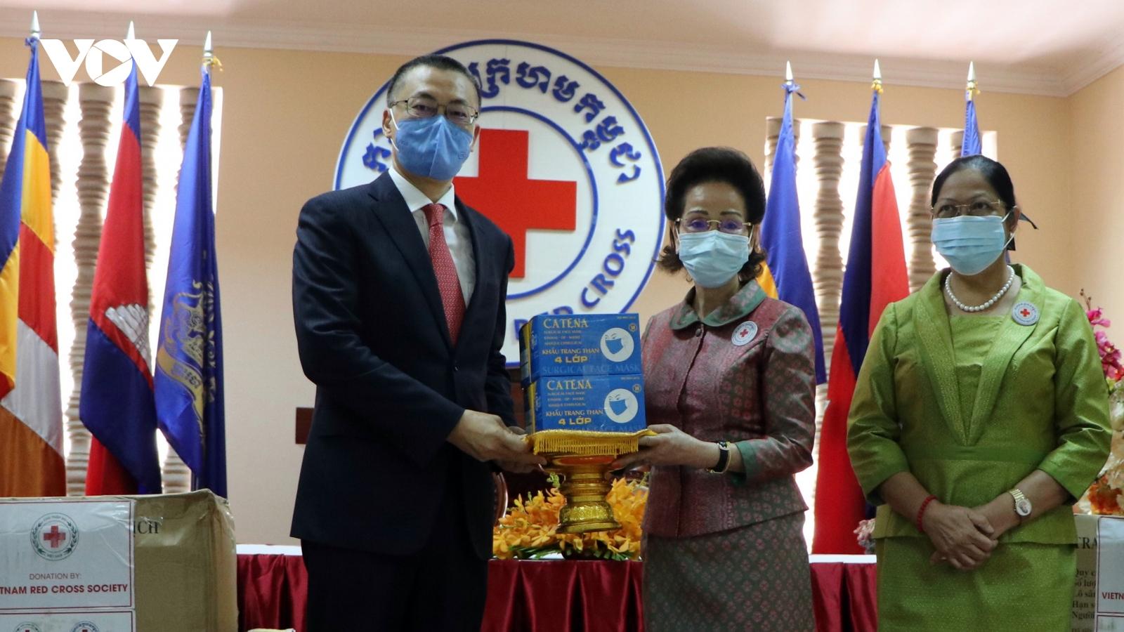 Việt Nam-Campuchia phối hợp chống Covid-19 và nhập cảnh trái phép