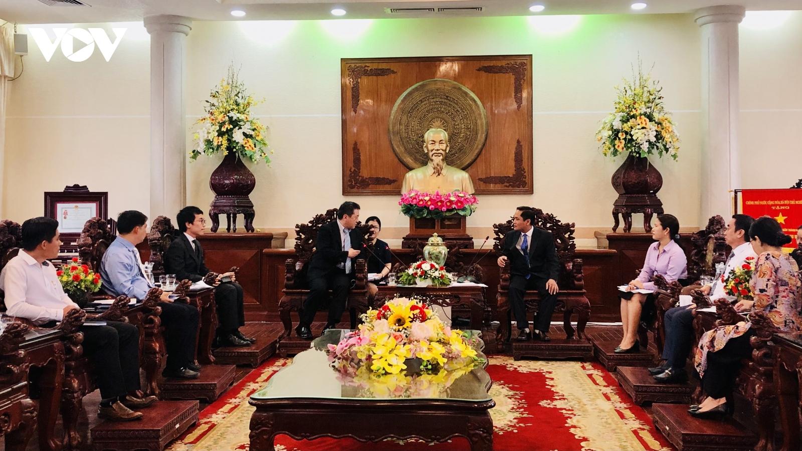 Cơ quan hợp tác quốc tế Nhật Bản xem Cần Thơ là đối tác quan trọng trên nhiều lĩnh vực