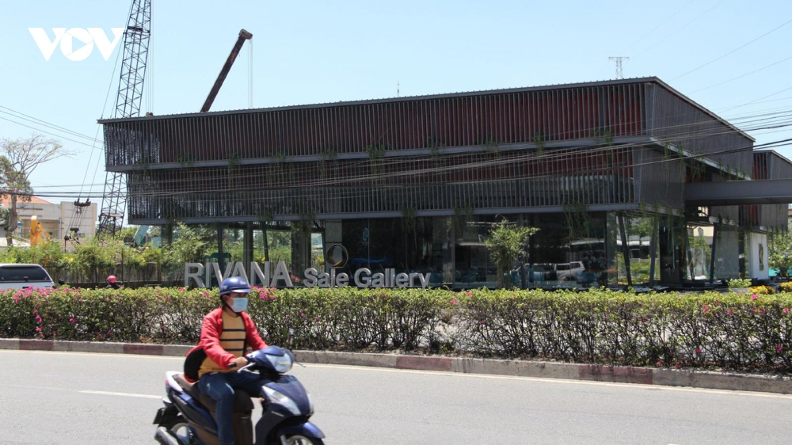 Công trình xây dựng không phép ngay sát trụ sở UBND phường ở Bình Dương