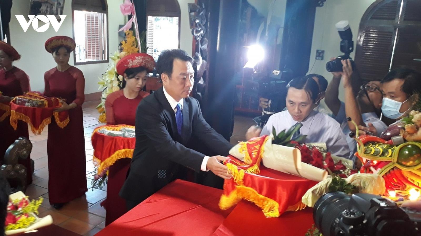Vĩnh Long tổ chức Lễ Giỗ Tổ Hùng Vương, đảm bảo an toàn phòng chống dịch bệnh