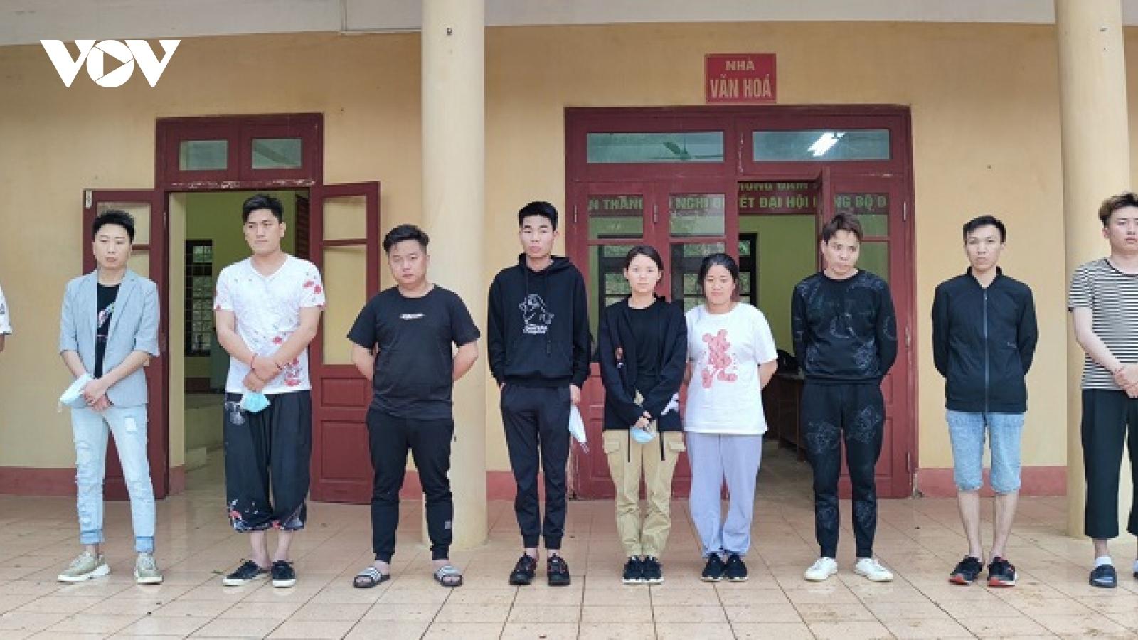 Bắt 3 đối tượng tổ chức đưa người Trung Quốc nhập cảnh trái phép vào Việt Nam