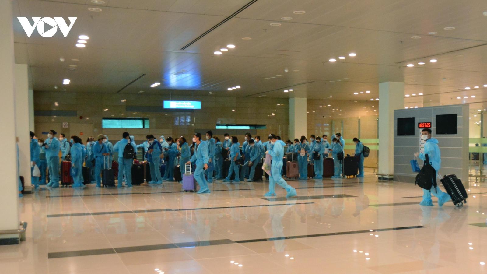 193 công dân Việt Nam từ Đài Loan (Trung Quốc) về Sóc Trăng có kết quả âm tính lần 1