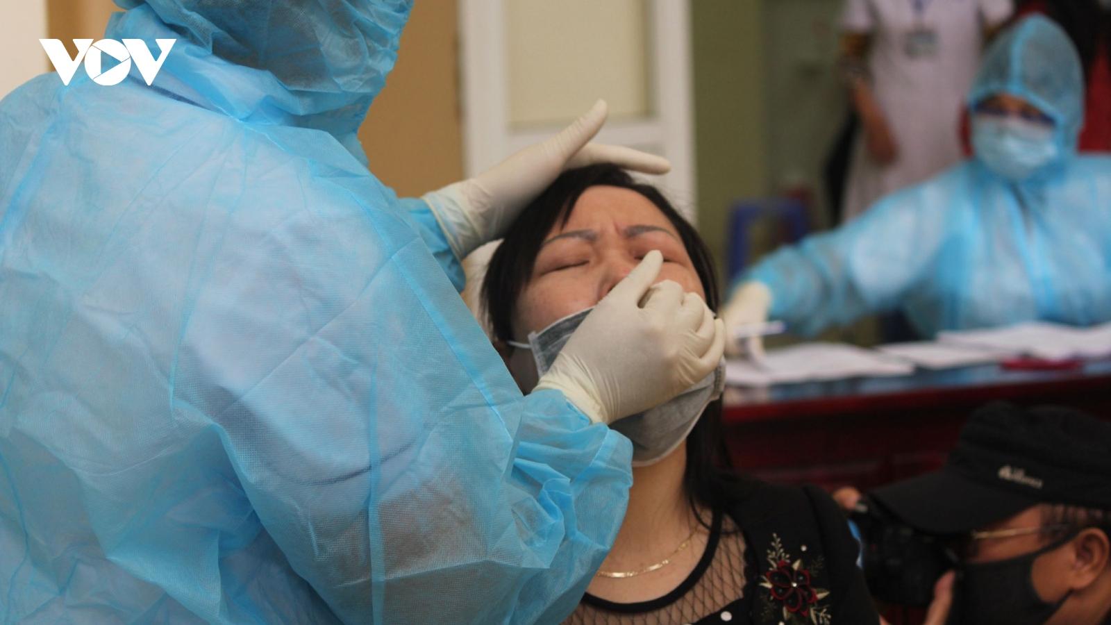 160 người là F1 của các bệnh nhân COVID-19 ở Hà Nam có kết quả xét nghiệm âm tính