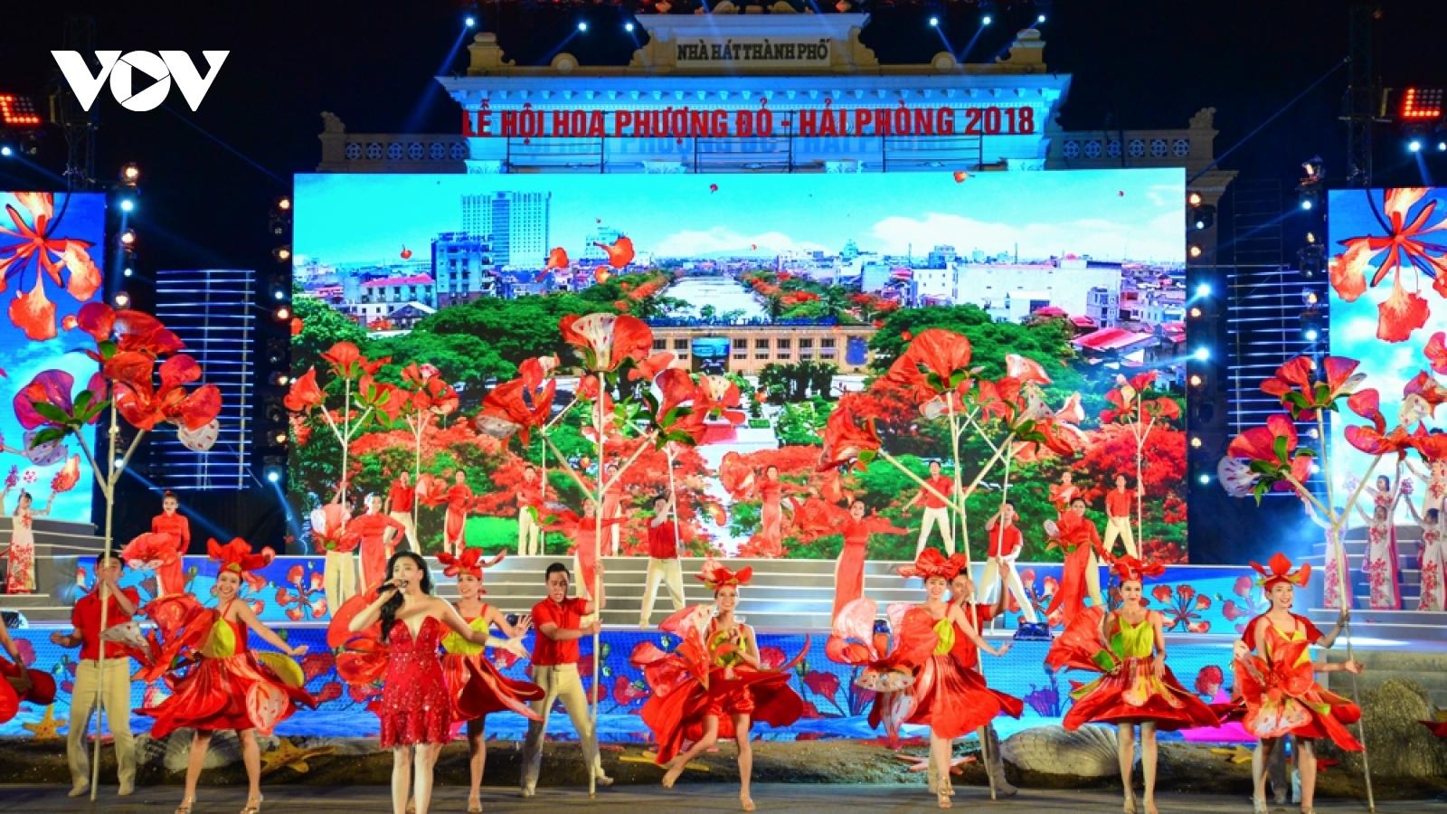 66 hoạt động trong Lễ hội Hoa Phượng Đỏ mừng 66 năm giải phóng Hải Phòng