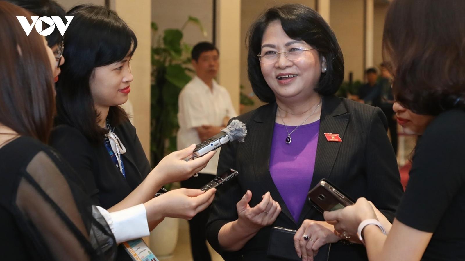 Bà Đặng Thị Ngọc Thịnh: Các đồng chí lãnh đạo mới đều rất tâm huyết và trách nhiệm