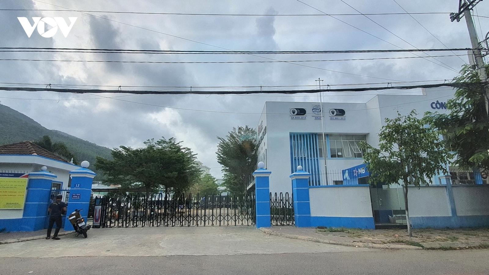 Bình Định di dời nhà máy gây ô nhiễm ra khỏi trung tâm thành phố