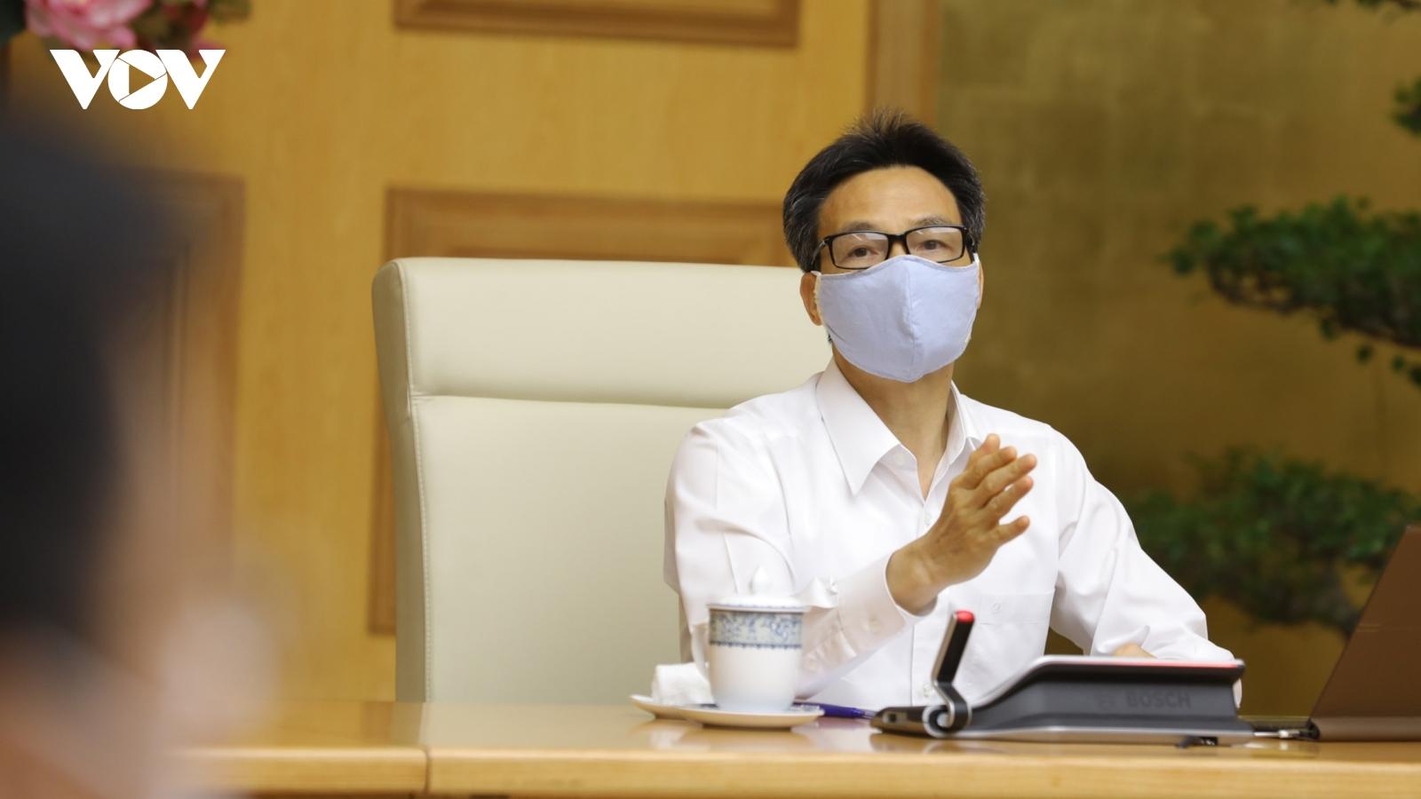 Các thành viên Ban Chỉ đạo Quốc gia sẽ trực tiếp kiểm tra phòng, chống dịch COVID-19