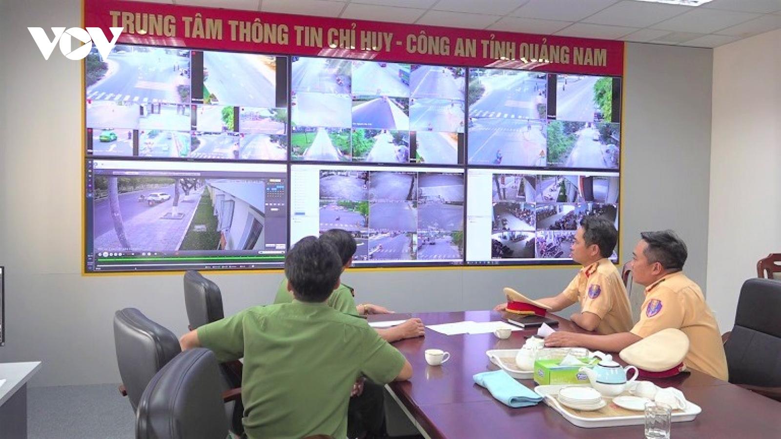 Quảng Nam triển khai phạt nguội các phương tiện vi phạm