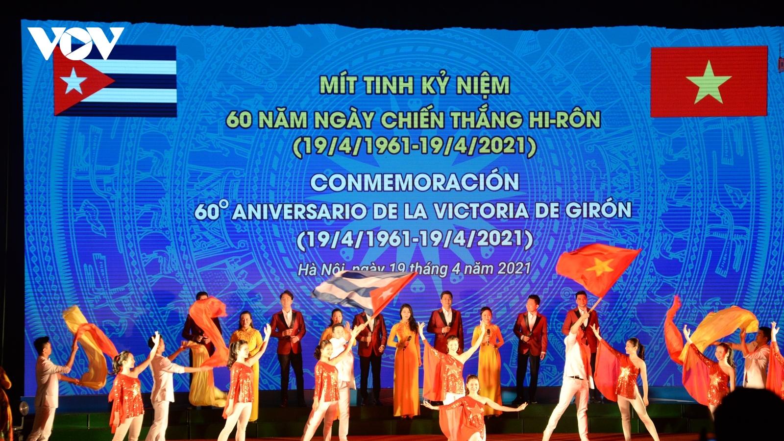 Việt Nam kỷ niệm 60 năm ngày Cuba đè bẹp cuộc đổ bộ của nhóm lưu vong tại Giron