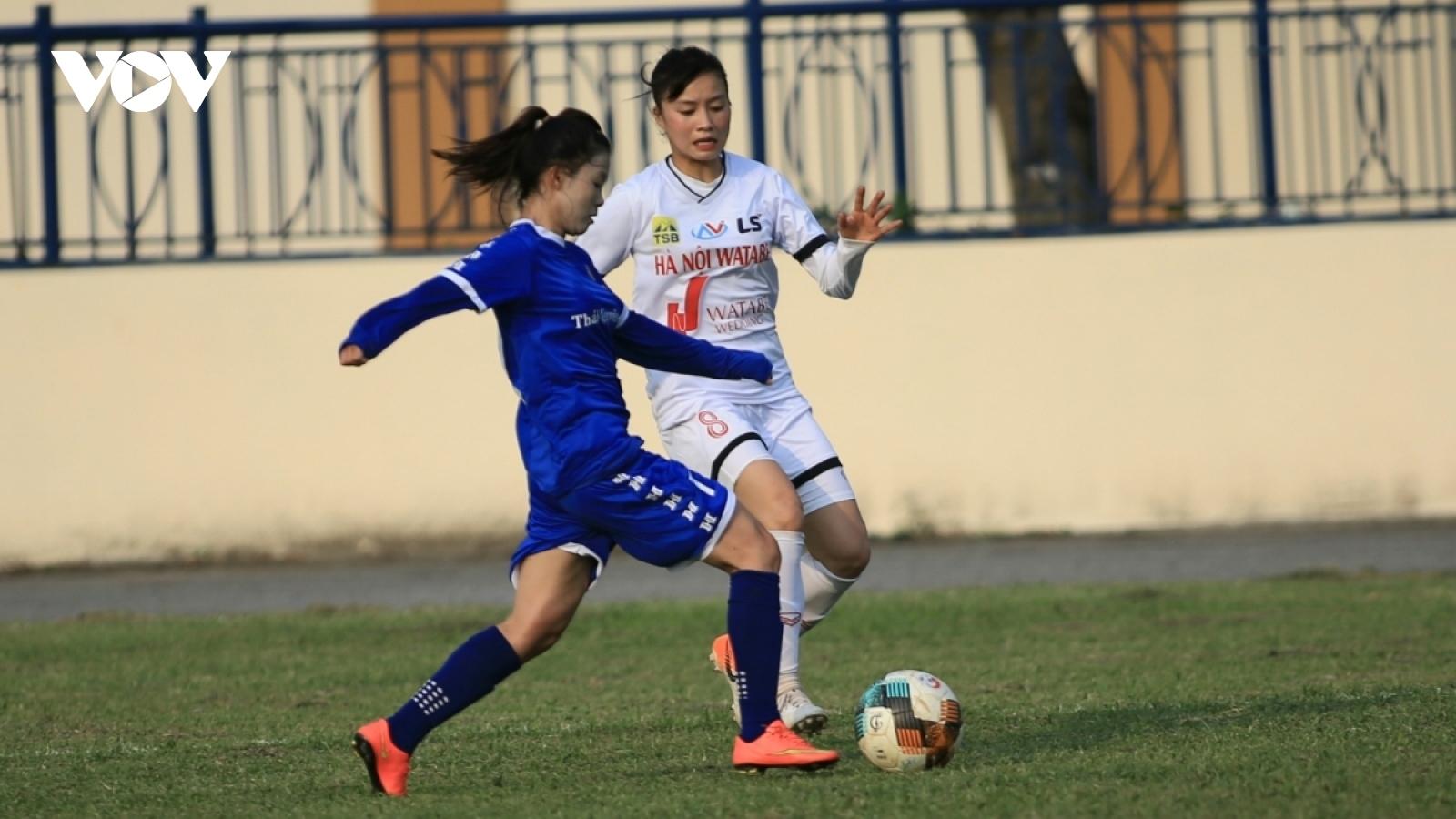 Khởi tranh giải bóng đá nữ Cúp QG 2021: Hà Nội 1 gây thất vọng