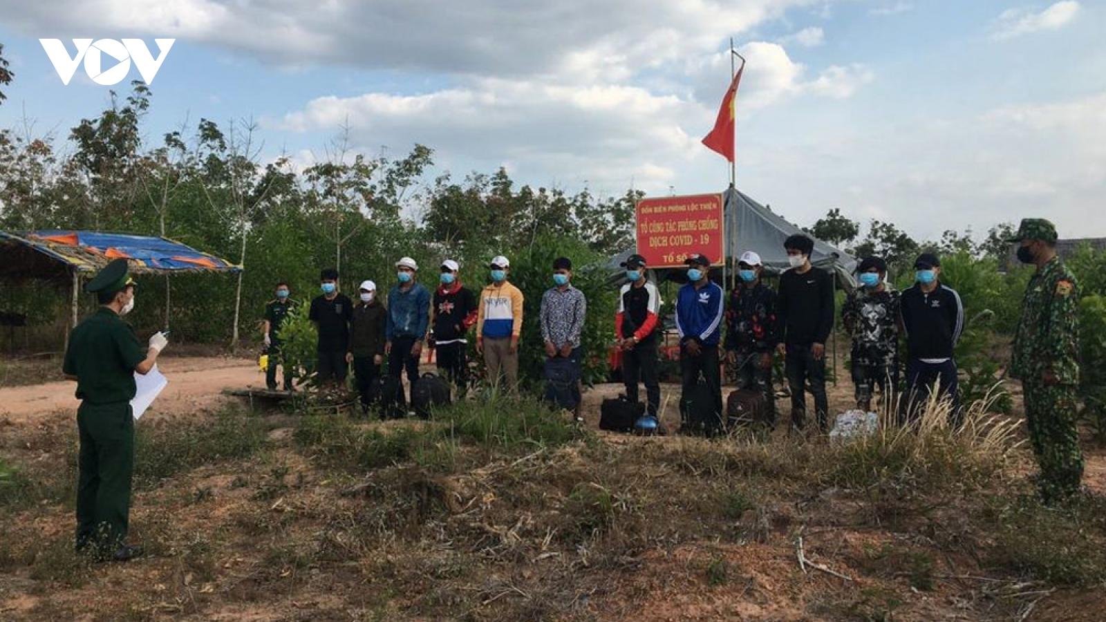 Bình Phước tăng cường kiểm soát hoạt động xuất nhập cảnh trên tuyến biên giới