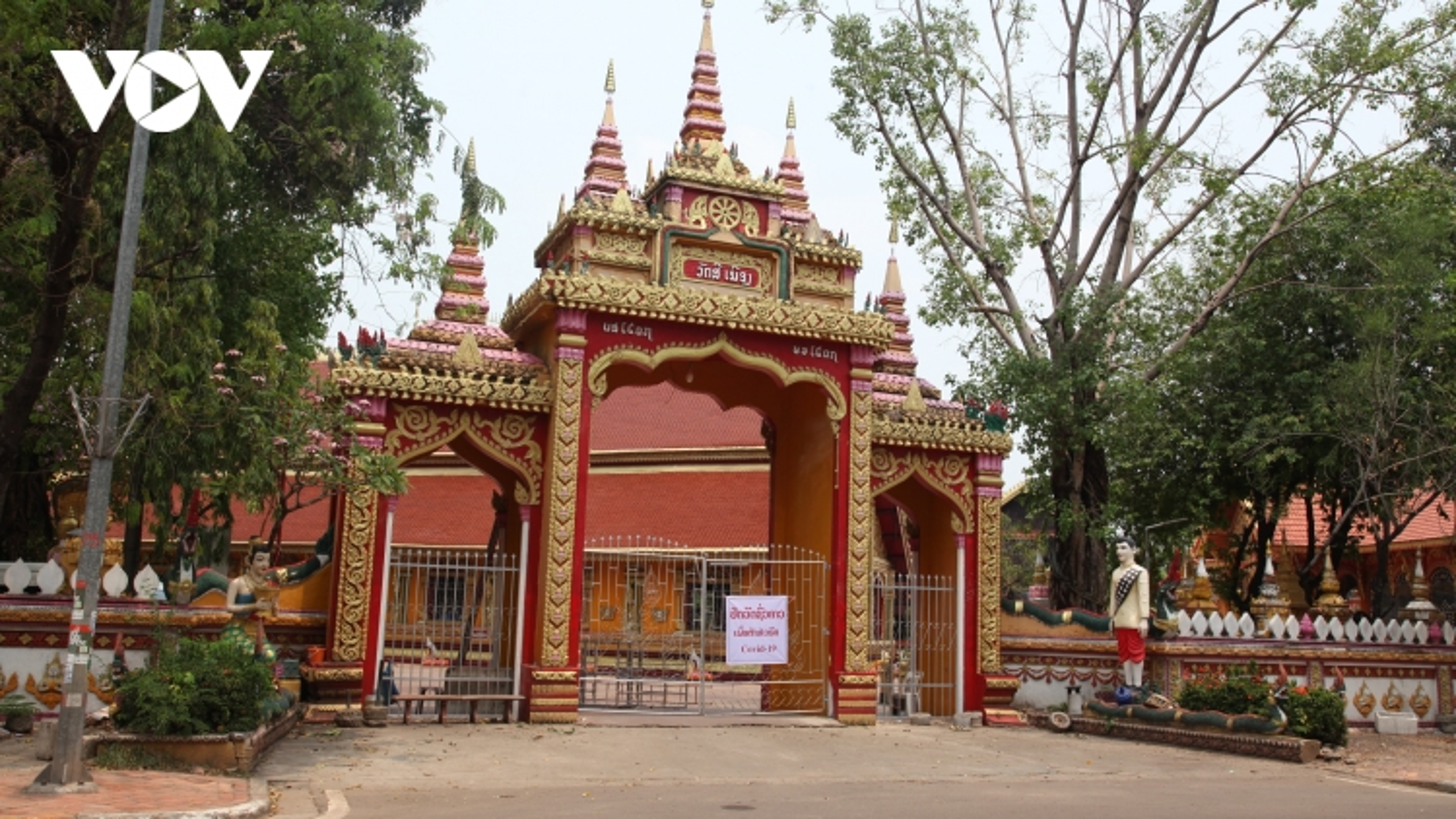 Lào:Số ca nhiễm Covid-19 mới tăng nhanh, thủ đô Vientiane bịphong toả