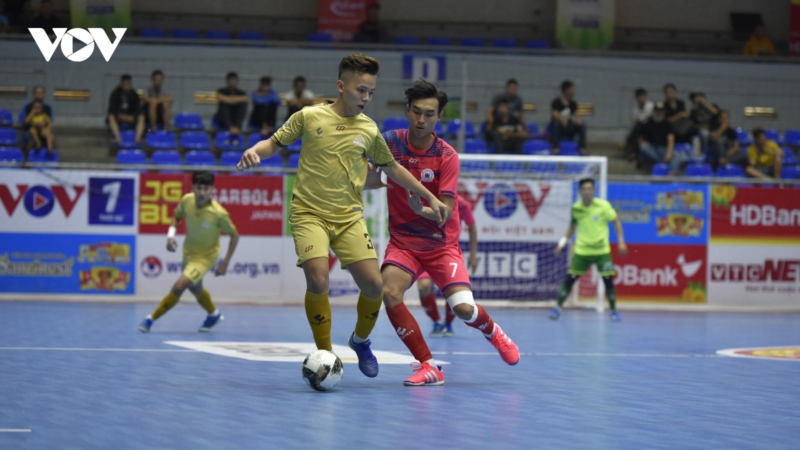 Giải Futsal HDBank VĐQG 2021: Tân Hiệp Hưng có chiến thắng đầu tay