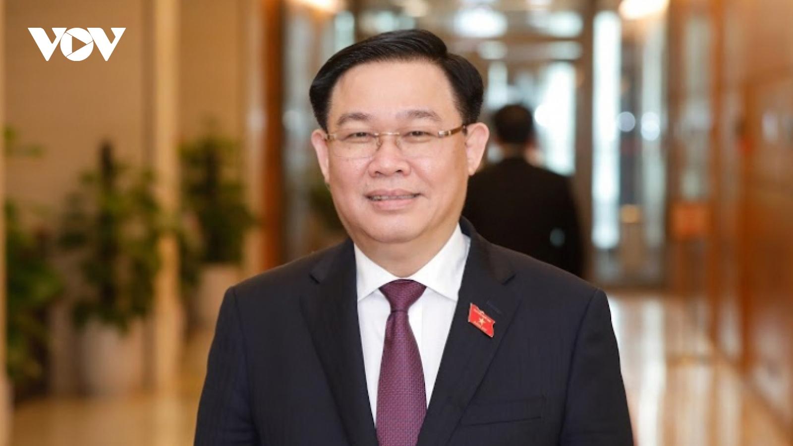 Cambodian Acting Senate President congratulates newly-elected Vietnamese NA Chairman