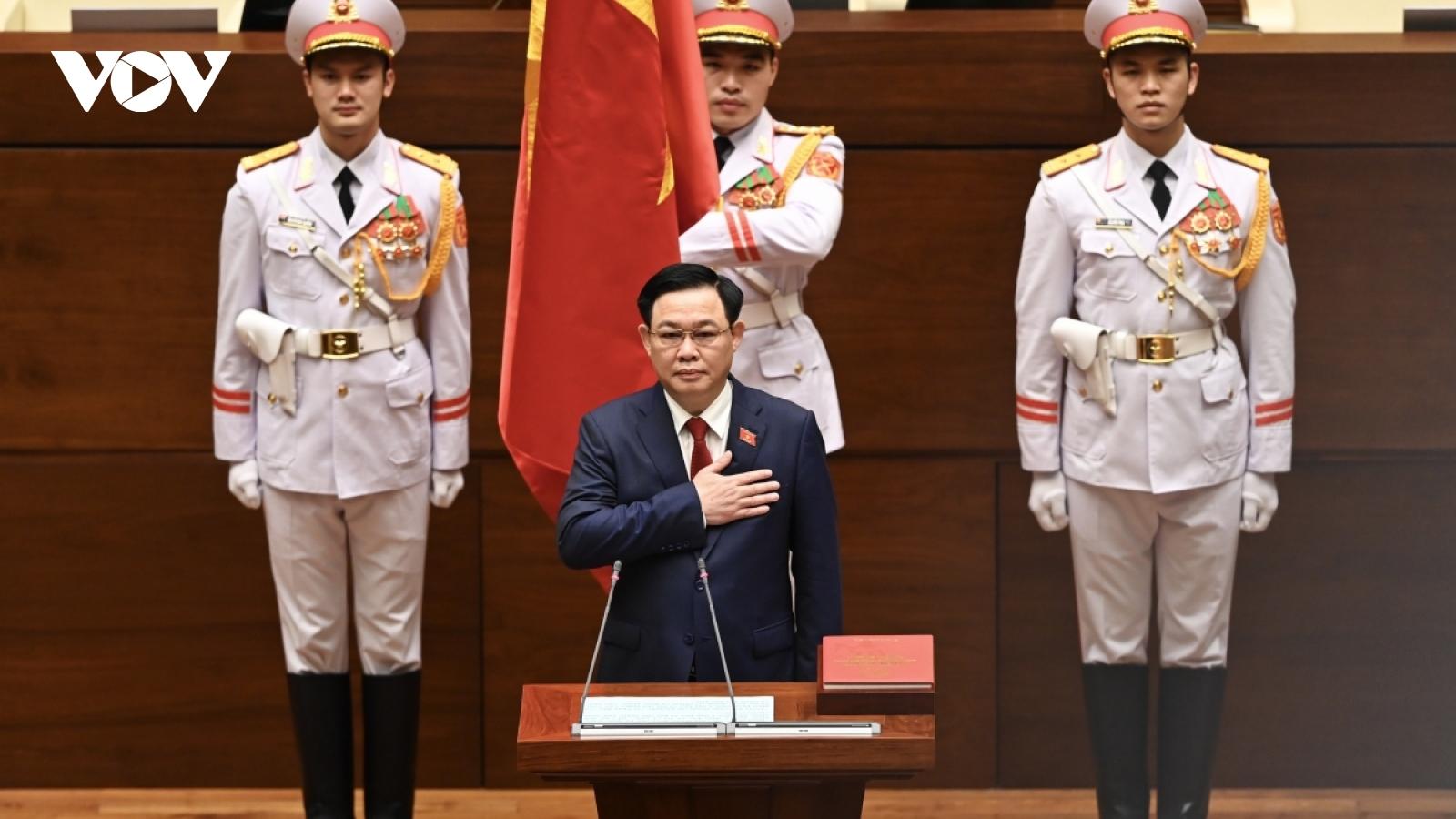 Cambodian NA President congratulates new Vietnamese NA leader