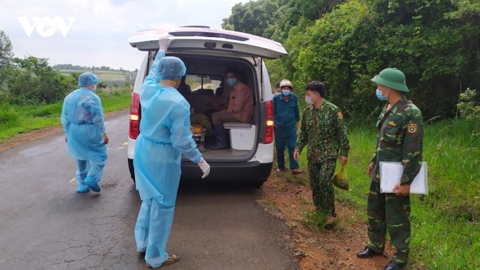 Đắk Nông bắt giữ 2 đối tượng vượt biên trái phép qua biên giới Việt Nam - Campuchia