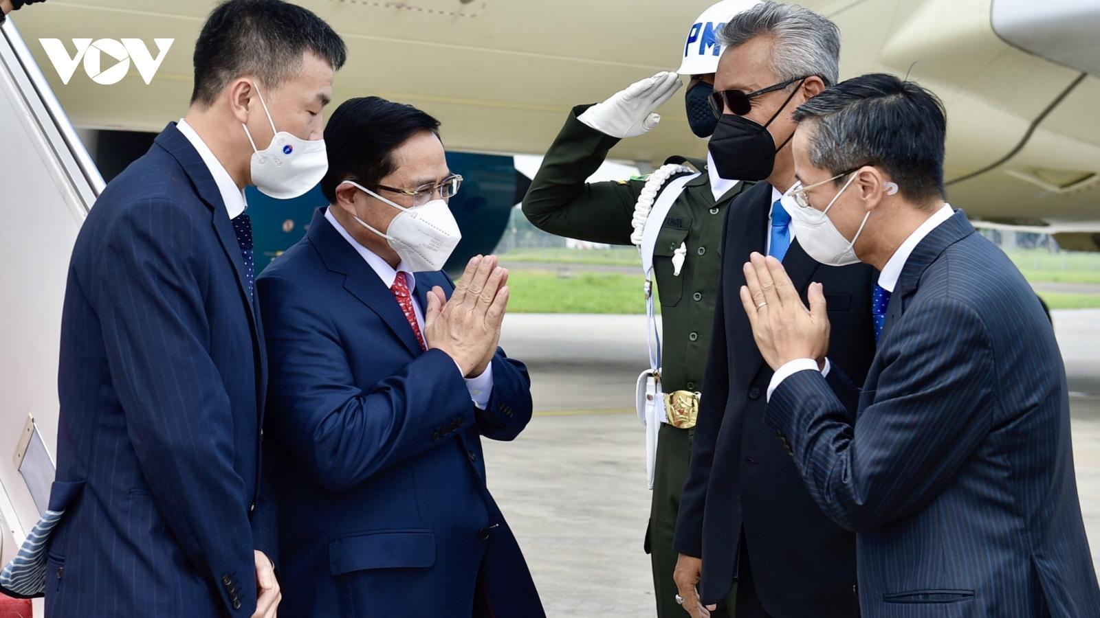 Thủ tướng Phạm Minh Chính tới Indonesia tham dự Hội nghị các Nhà Lãnh đạo ASEAN