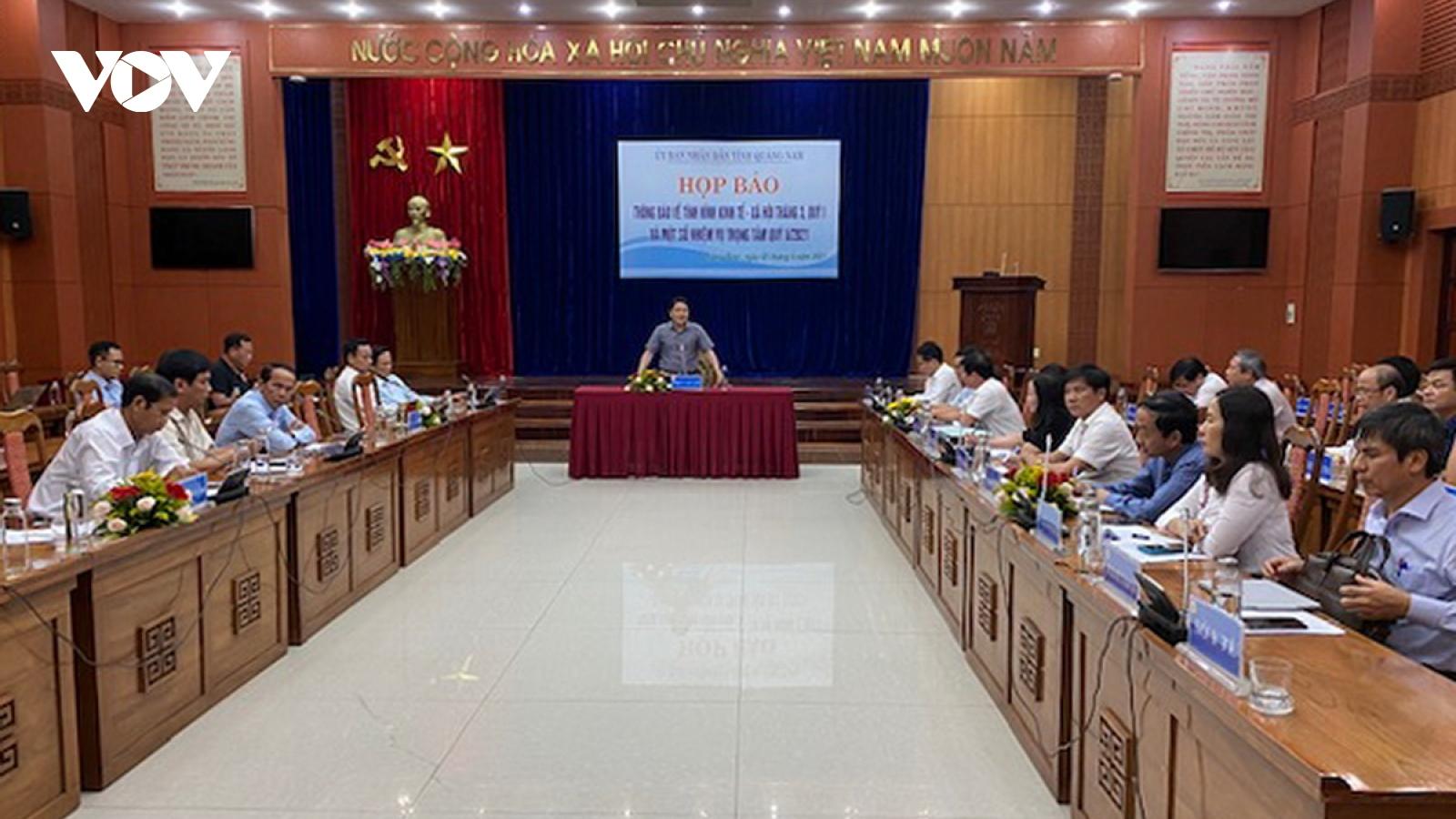 Kinh tế Quảng Nam phục hồi và tăng trưởng