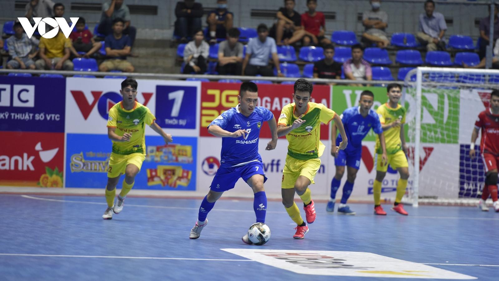 Giải Futsal HDBank VĐQG 2021: Sahako 4-1 Hiếu Hoa Đà Nẵng