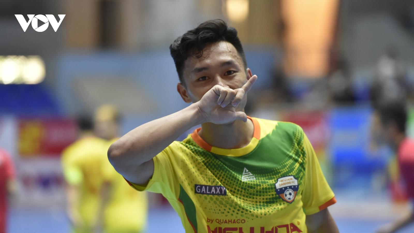 Giải Futsal HDBank VĐQG 2021: Hiếu Hoa Đà Nẵng giành chiến thắng đầu tiên