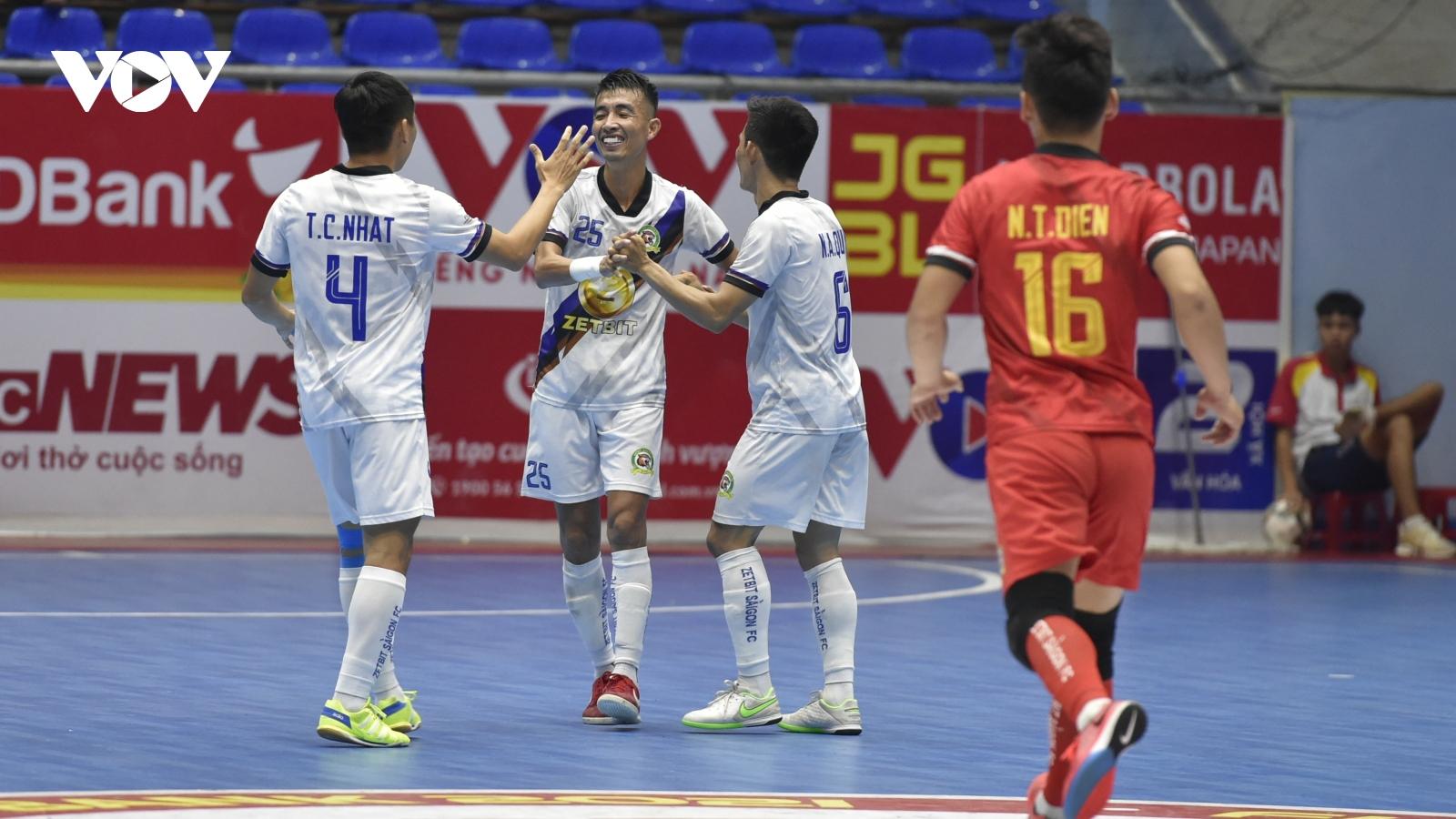 Giải Futsal HDBank VĐQG 2021: Nóng bỏng cuộc chiến ngôi đầu