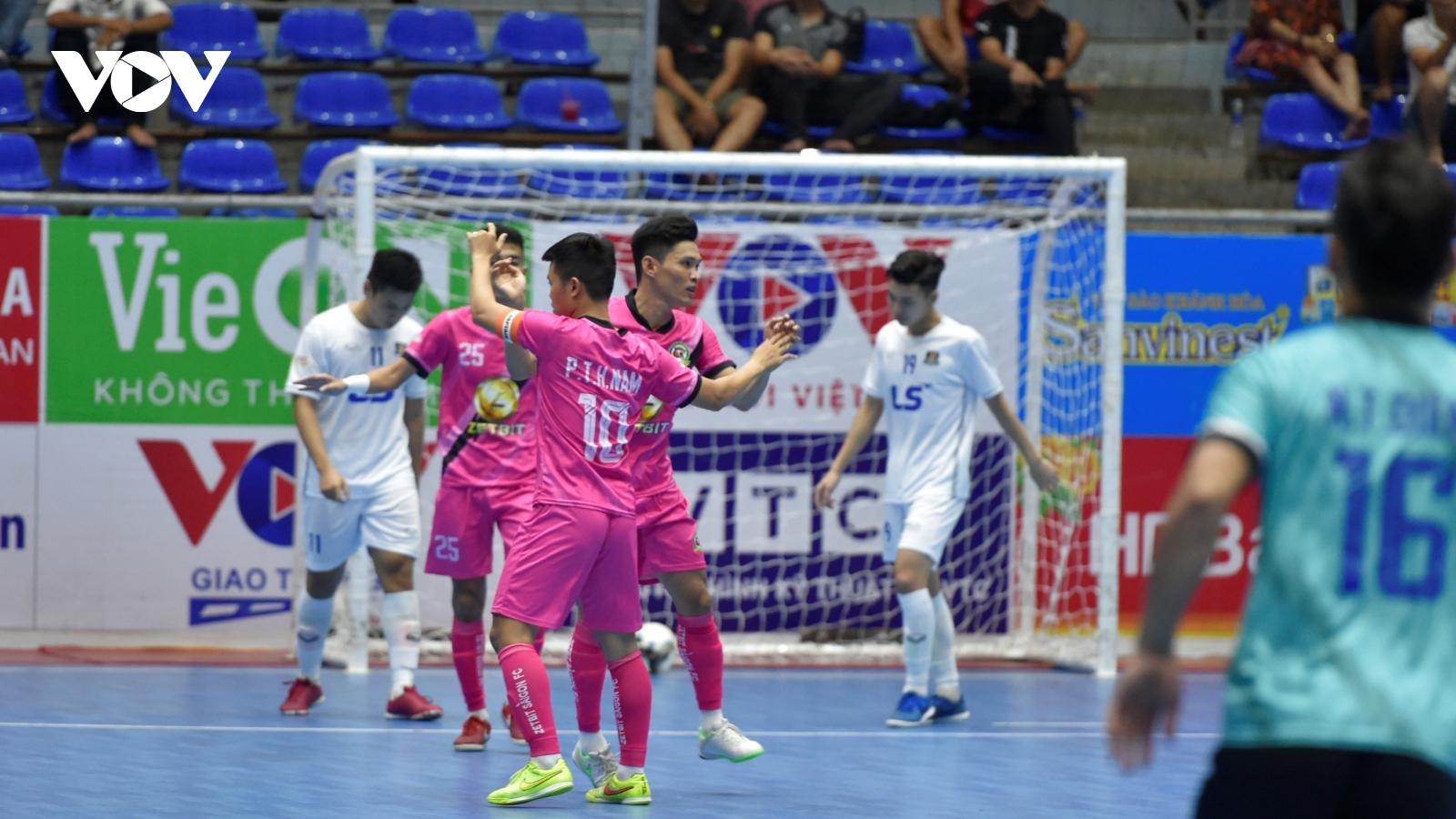 Zetbit SG FC dẫn đầu BXH sau chiến thắng trước Thái Sơn Bắc