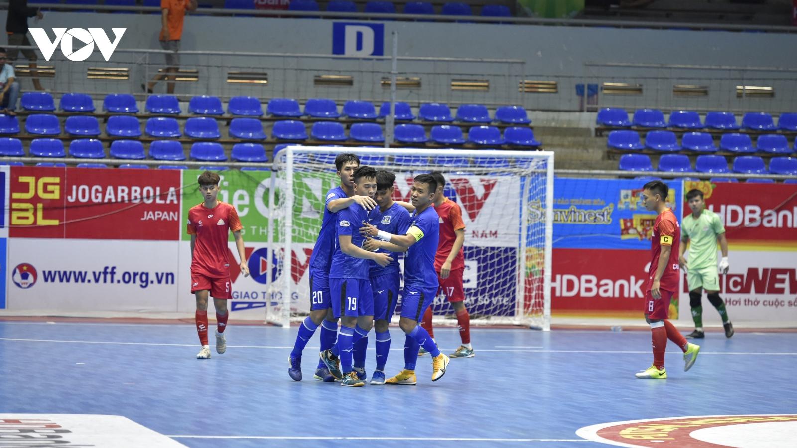 Giải Futsal HDBank VĐQG 2021: Thái Sơn Nam tạo cơn mưa bàn thắng