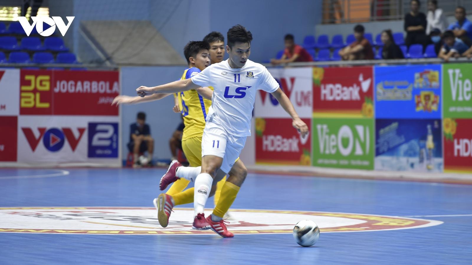 Giải Futsal HDBank VĐQG 2021: Thái Sơn Bắc đánh bại S.Khánh Hòa