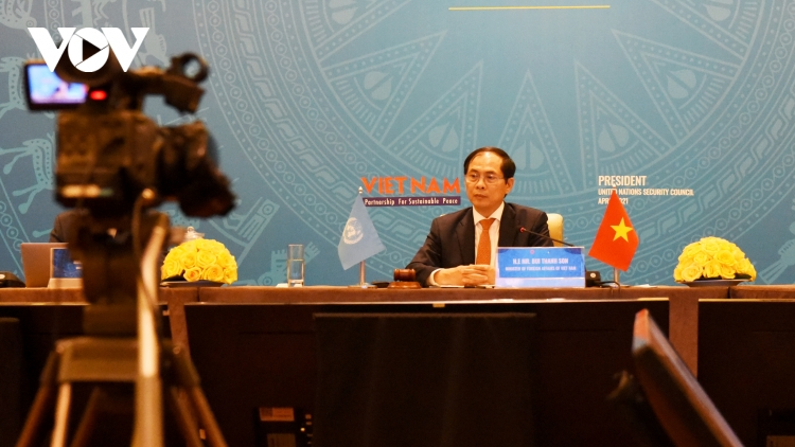 Bộ trưởng Bùi Thanh Sơn: Hòa bình chỉ bền vững khi hậu quả chiến tranh được giải quyết