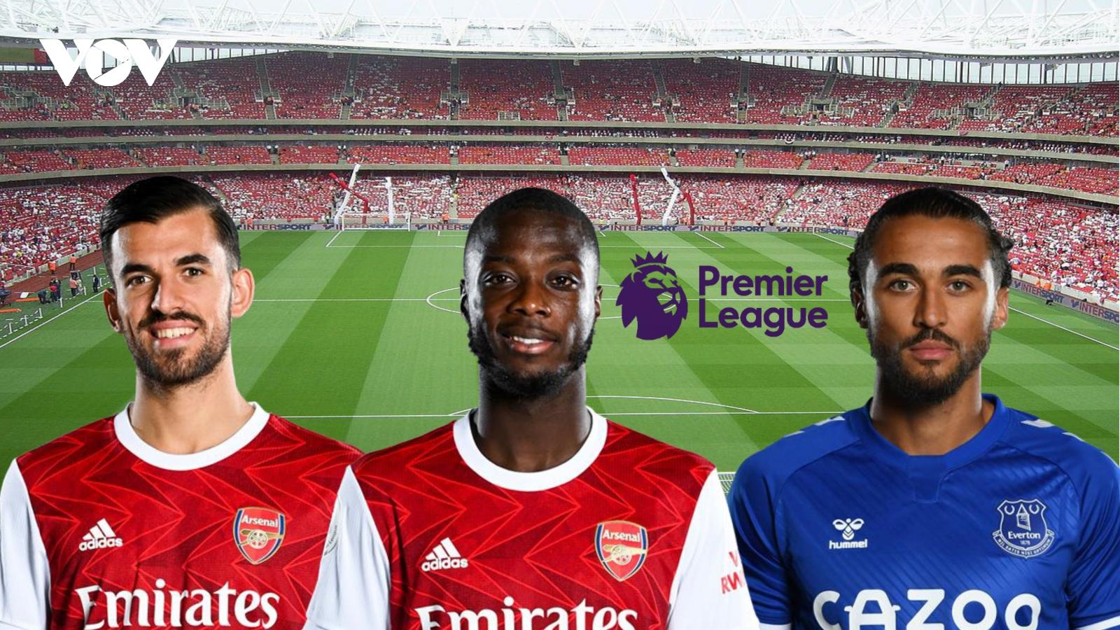 Dự đoán kết quả, đội hình xuất phát trận Arsenal - Everton
