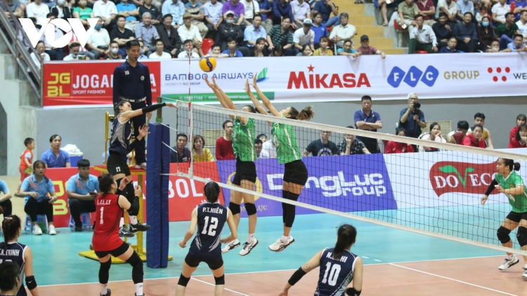 Hung Kings Volleyball Cup 2021 gets underway in Phu Tho
