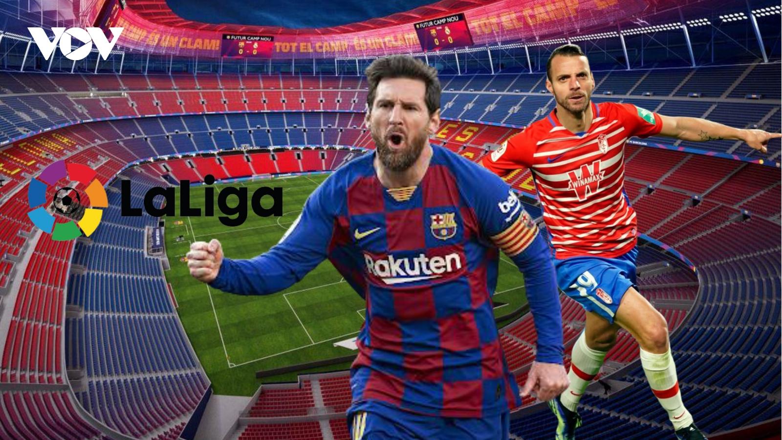 Dự đoán kết quả, đội hình xuất phát trận Barca - Granada