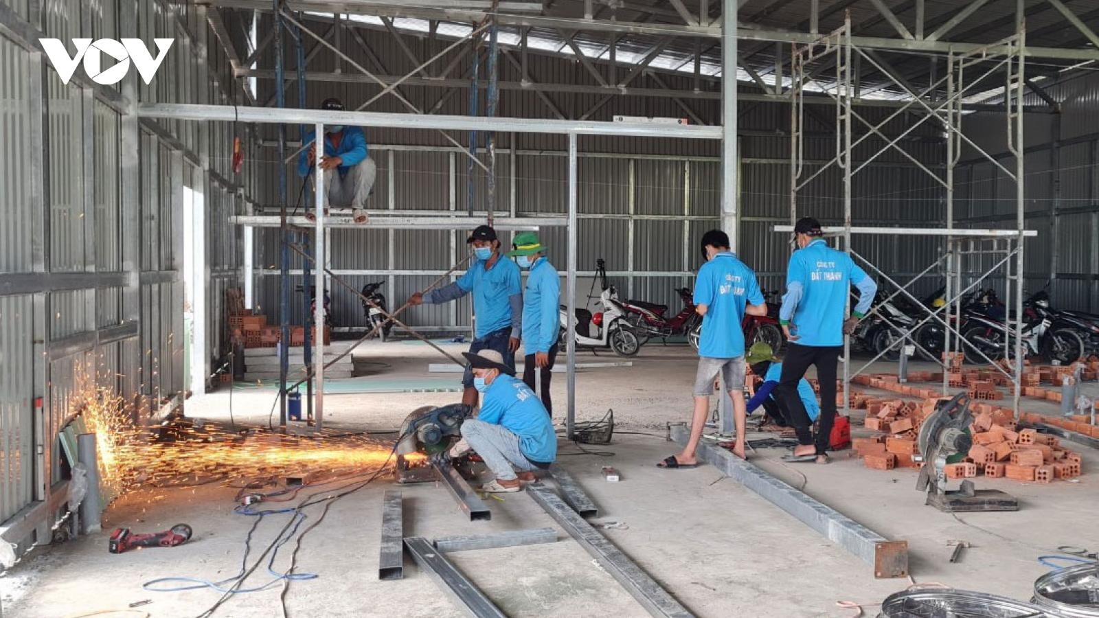 Xây dựng bệnh viện dã chiến, tăng cường thêm nhiều chốt tuyến sau và trên biển Kiên Giang